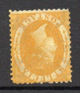 St Lucia 1864 4d p12½ wmk INVERTED & REVERSED SG 12y unused.