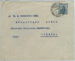 77299 - INDIA - POSTAL HISTORY -  COVER to ITALY  1929