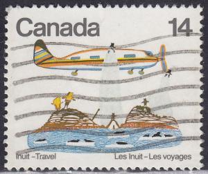 Canada 771 USED 1978 Inuit Indian Travel, Art 14¢