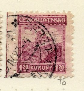 Czechoslovakia 1926-27 Issue Fine Used 1.20k. NW-148603