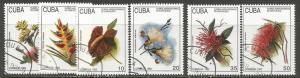 Cuba CTO 3515-20 FLOWERS R5-175