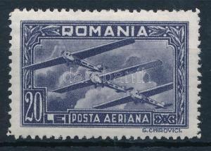 Romania stamp Airplane set closing value Hinged 1931 Mi 423 WS197376