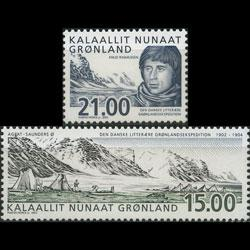GREENLAND 2002 - Scott# 407-8 Exped.Cent. Set of 2 NH