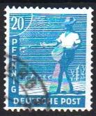 Mi:950 a  1947 used Cat €  2.00