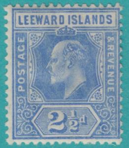 LEEWARD ISLANDS 45  MINT HINGED OG * NO FAULTS  VERY FINE