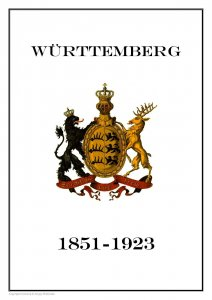 Germany Württemberg German State 1851-1923 PDF(DIGITAL) STAMP ALBUM PAGES