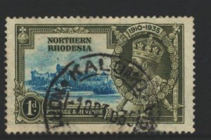 Northern Rhodesia Sc#18 Used