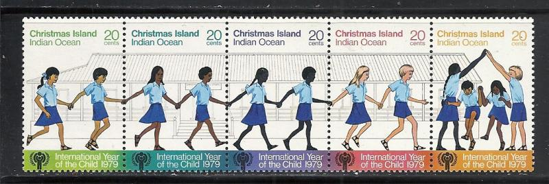 Christmas Island #89 comp mnh Scott cv $1.50 Year of Child
