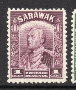 Sarawak 1934 Charles Brooke Early Issue Fine Mint Hinged 1c. 057832