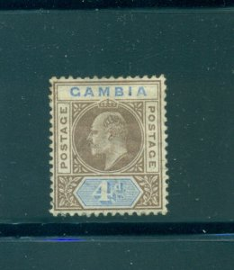 Gambia - Sc# 33. 1902 4p Mint. $10.00