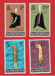 St. Helena  #273-276 MNH OG  Military Items  Free S/H