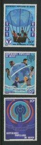 Benin MH 420-2 International Year Of The Child 1979