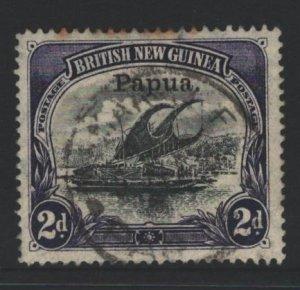 Papua New Guinea Sc#21 Used