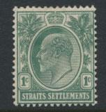 Straits Settlements Edward VII SG 127  Mint Hinged