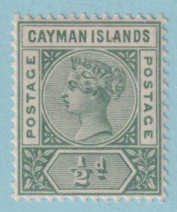 CAYMAN ISLANDS 1  MINT NEVER HINGED OG *  NO FAULTS EXTRA FINE!