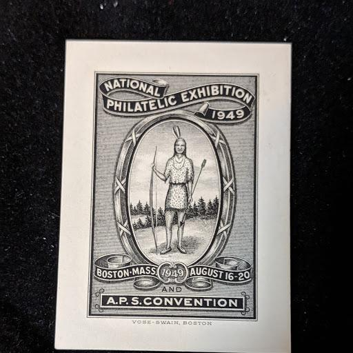 A.P.S. Convention 1949 Cinderella XF+, (eBay) $193