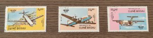 Guinea Bissau #568-570 The 40th Anniversary of I.C.A.O. Used hinged