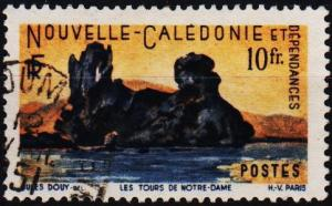 New Caledonia. 1948 10f S.G.321 Fine Used