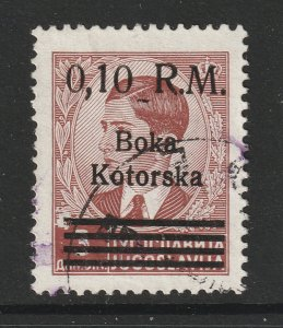 German Occ of Kotor a used 0,1RM