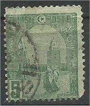 TUNISIA, 1906, used 5c, Mosque Scott 32