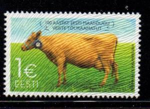 Estonia Sc 763 2014 Cattle Herdbook stamp mint NH