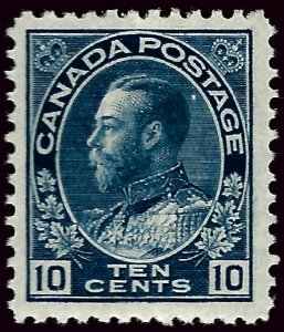 Canada #117 Mint VF hr SC$47.50...Very Popular Country!