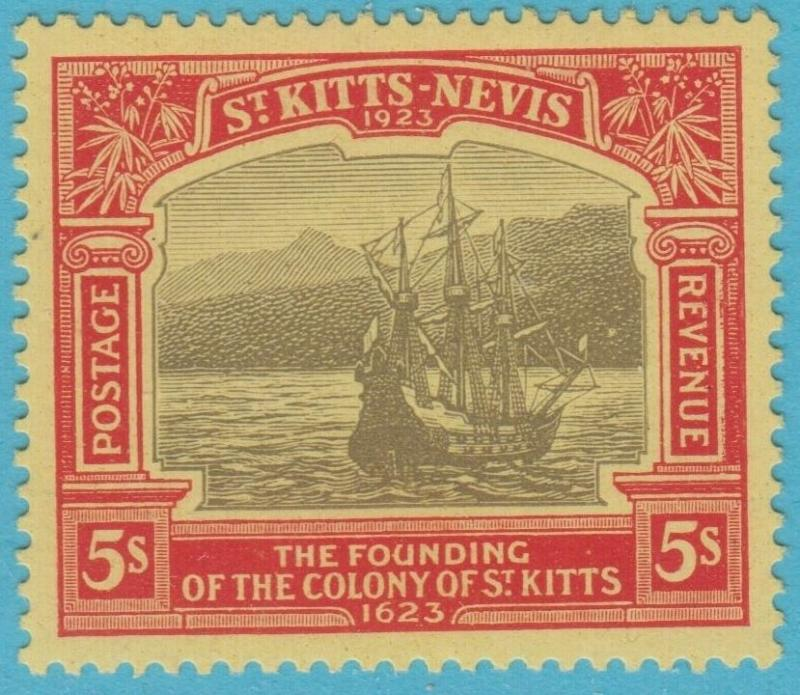 ST. KITTS AND NEVIS 63  MINT HINGED OG NO FAULTS EXTRA FINE