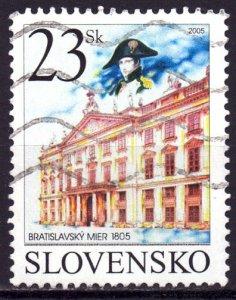 Slovakia. 2005. 513. Palace. USED.