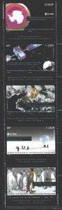 Australian Antarctic Territory (AAT). 2012. 632-36. Antarctica satellite spac...