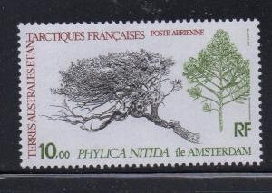 FRENCH SOUTHERN & ANTARCTIC TERR Sc C59 1979 plant airmail stamp mint NH