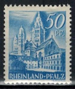 Germany - French Occupation - Rhine Palatinate - Scott 6N11 (SP)