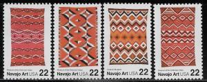 UNITED STATES SC# 2235-38 FVF/MNH 1986