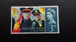 Great Britain 1965 The 100th Anniversary of the Salvation Army Mint