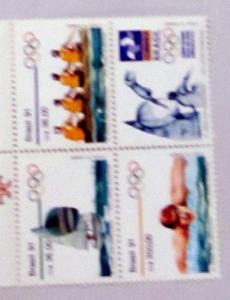 Brazil - 2308a, MNH Set Block of 4. Olympics. SCV - $4.50