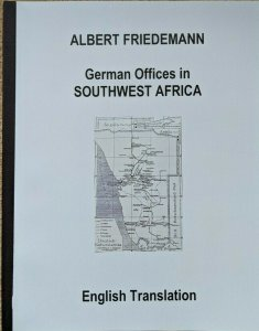 SOUTHWEST AFRICA German Colonies Friedemann Stamps Postmarks English Translation