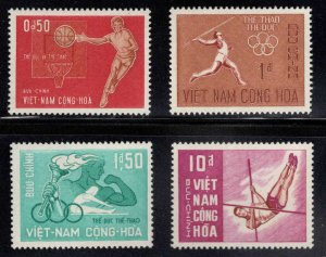 South Vietnam Scott 272-275 MH* Olympic stamp set