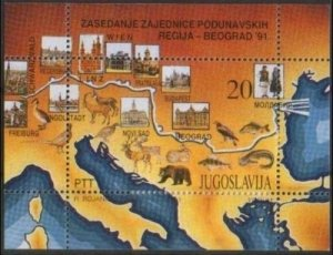 1991 Yugoslavia 2481/B40 Fauna 10,00 €