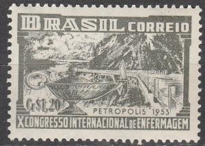 Brazil  #744  F-VF Unused   (K1404)