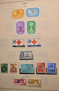 FIJI 1963 SETS AND SINGLES NO FAULTS EXTRA FINE! REMOVED OFF PAGE fi997