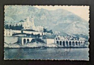 1922 Asyut Egypt To Natick Massachusetts Casino Monte Carlo RPPC Cover