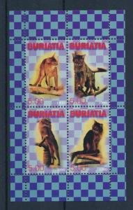 [34268] Private Issue Buriatia  Animals Cats MNH Sheet