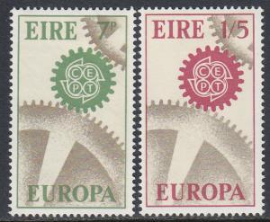 Ireland 232-3 MHR - Europa 1967