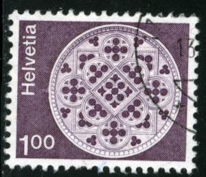 SWITZERLAND #569 , USED - 1974 - SWIT018