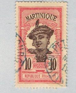 Martinique Woman red 10c (AP122111)-2