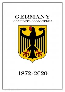 Germany complete collection (16 albums) 1872-2020 PDF STAMP ALBUM PAGES