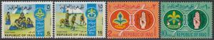 Iraq 457-60 MNH - Scouting Movement