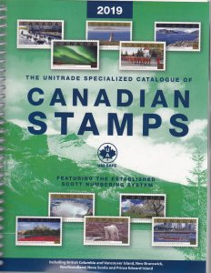 2019 Unitrade Specialized Catalogue of Canadian Stamps