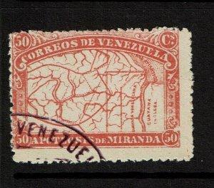 Venezuela SC# 140, Used, pg rem - S11327