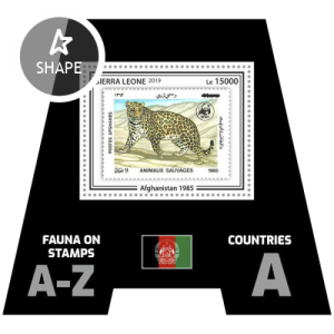 SIERRA LEONE - 2019 - Stamps of Stamps, Afghanistan - Perf Souv Sheet - MNH