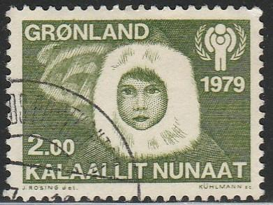 Greenland, #111 Used From 1977
